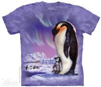 Papa Penguin T-shirt | The Mountain® | David Penfound